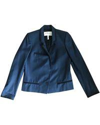 Étoile Isabel Marant - Blue Wool Jacket - Lyst