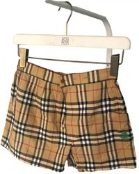 Burberry Brown Cotton Shorts