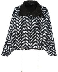 Balmain - Pre-owned Black Synthetic Jackets - Lyst