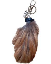 Dior Gioiello da borsa in Visone - Marrone