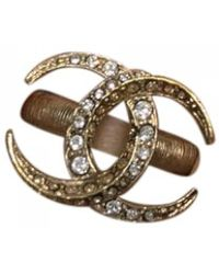 Chanel - Other Metal Ring - Lyst