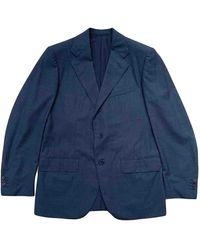 Loro Piana Wool Suit - Blue