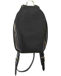 Louis Vuitton Zaino in pelle nero Mabillon