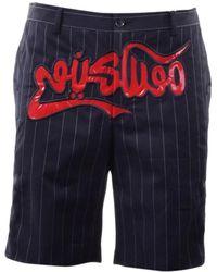 Moschino Shorts Baumwolle Schwarz