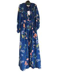 Borgo De Nor Maxi Dress - Blue