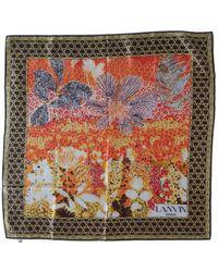 Lanvin Silk Neckerchief - Multicolor