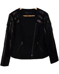 Karen Millen Black Wool Jacket