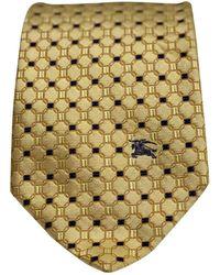 Burberry Seide Krawatten - Mettallic