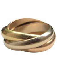 Cartier Trinity Yellow Gold Ring - Multicolour