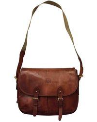 Loewe Leather Small Bag - Brown