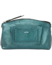 Lancel - Green Leather - Lyst