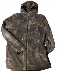 Nike Pullover&Sweatshirt Baumwolle Grau