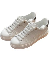 Louis Vuitton Sneakers TimeOut in Pelle - Bianco