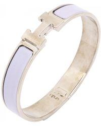 Hermès Bracelet Clic H - Violet