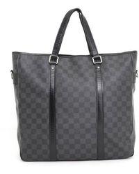 Louis Vuitton Black Cloth Bag
