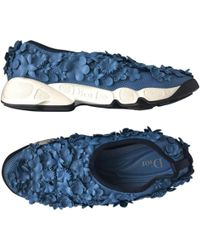 Dior - Blue Polyester Trainers - Lyst