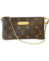 Louis Vuitton Milla Cloth Clutch Bag - Multicolor