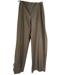 Chanel Pantaloni in Lana - Grigio
