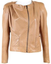 Vanessa Bruno - Pre-owned Leather Jacket - Lyst