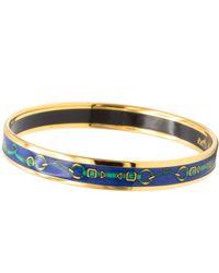 Hermès Bracciali in LOWER()metallo LOWER()Blu Bracelet Email