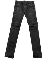 Balmain Slim jeans - Schwarz