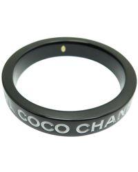 Chanel \n Black Ceramic Bracelets