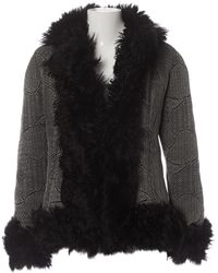Dior Shearling Coat - Black