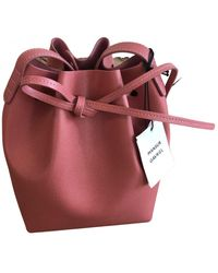 Mansur Gavriel Borsa Bucket in Pelle - Multicolore