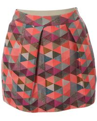 Matthew Williamson Pink Polyester Skirt