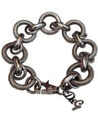 Dolce & Gabbana Silver Metal Bracelet - Metallic