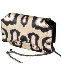 Givenchy Bow Cut Leder Clutches - Mehrfarbig
