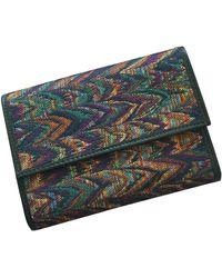 Missoni Leather Wallet - Multicolor