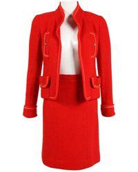 Chanel Vest Rouge