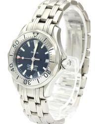 Omega Seamaster Blue Steel Watch