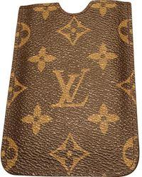 Louis Vuitton Petite maroquinerie en Cuir Marron