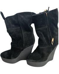 Burberry Snow Boots - Black
