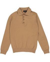 A.P.C. Jersey en lana beige - Neutro