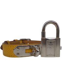 Hermès Kelly Uhren - Gelb