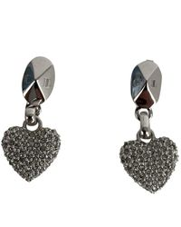 Dior Orecchini in argento argentato - Grigio