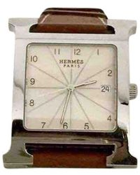 Hermès Heure H Uhren - Mehrfarbig