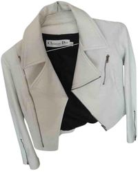 Dior Leather Jacket - White