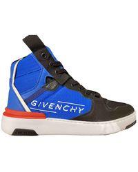 Givenchy Wing Logo Hi Top Sneaker - Blau