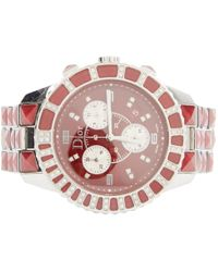Dior - Christal Chronographe Red Steel Watches - Lyst