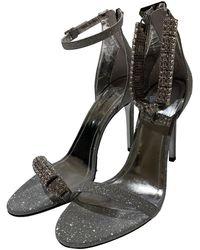 CALVIN KLEIN 205W39NYC Glitter Sandals - Metallic