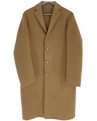 Acne Studios Wool Coat - Natural