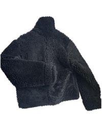 Dior Shearling Biker Jacket - Black