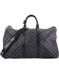 Louis Vuitton - Keepall Leather Bag - Lyst