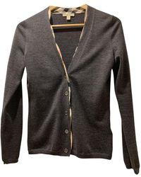 Burberry Wool Cardigan - Black