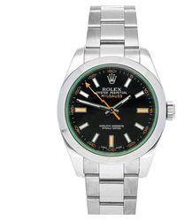 Rolex Explorer 39mm Black Steel Watch