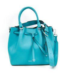 Michael Kors Blakely Leder Handtaschen - Blau